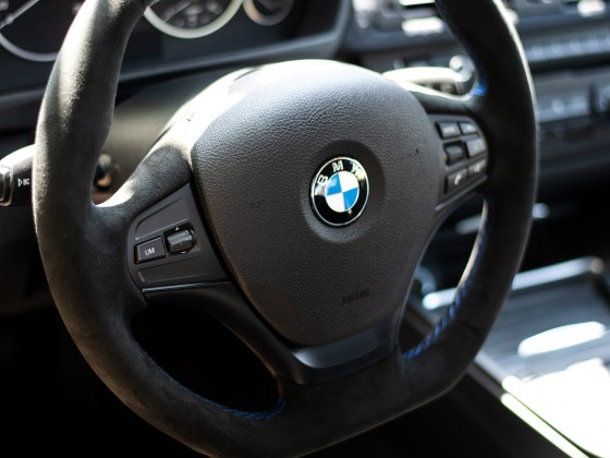 BMW f30 335i Innenraum Alcantara Everywhere x)