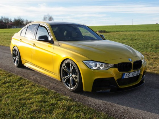 The Yellow one (F30 - Limousine)