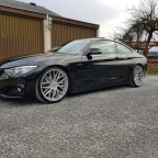 430d mit KW V1 und Japan Racing jr28