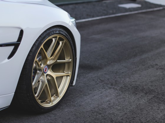 BMW M3 R101 LW Brushed Gold 3.5