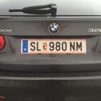 Kennzeichenhalter Österreich