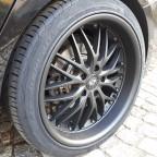 2. Umbau: Felgen, Reifen, Tieferlegung und Tönungsfolie