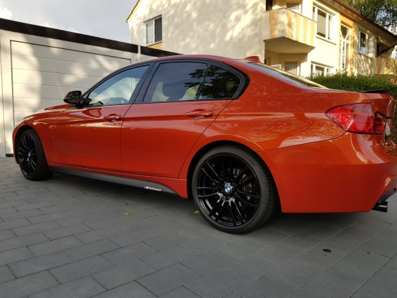 F30 Valencia Orange M Performance !
