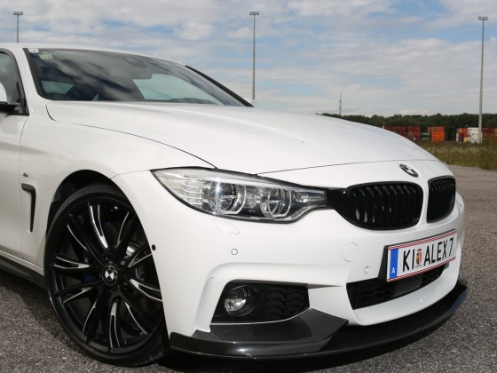 "Meine ""White Pearl"" - BMW F32 428i ///M-Performance"