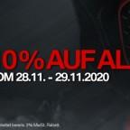 Black Weekend-10% Rabatt zusätzlich auf ALLES!