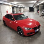 335i Melbourne Red